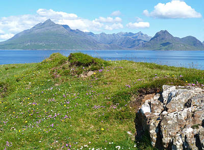 Photograph - Summer - Cuillin Mountains by Phil Banks