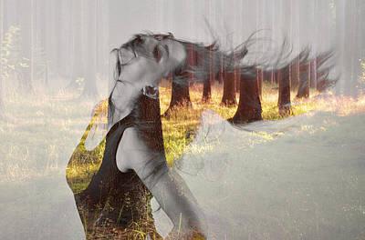 Enjoyment Digital Art - Summer Dance by Martin Capek