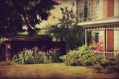 Old Time Feel Photograph - Summer Day At Kline's  by Stephanie Calhoun
