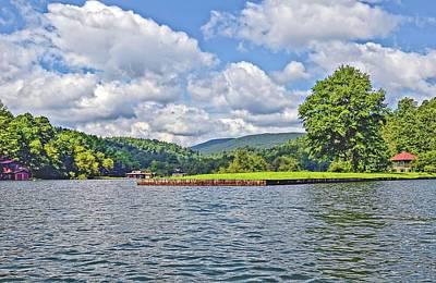 Photograph - Summer Day At The Lake by Susan Leggett