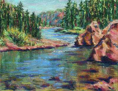 Painting - Summer Day by Diana Wade