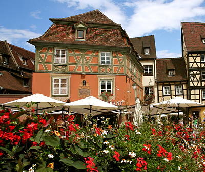 Colmar France Wall Art - Photograph - Summer Day In Colmar by Amy Sorvillo