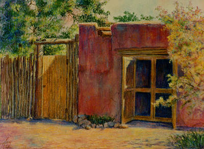 Painting - Summer Day In Santa Fe by Ann Peck