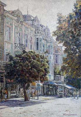 Landscape Painting - Summer Day In Varna by Andrey Soldatenko