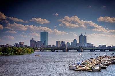 Photograph - Summer Day On The Charles River by Rick Berk