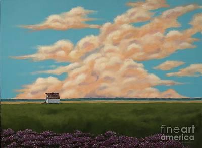 Painting - Summer Daydream by Billinda Brandli DeVillez