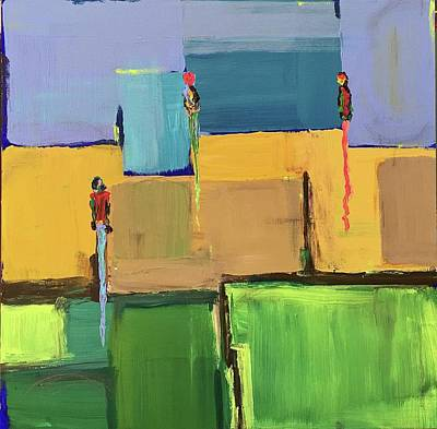 Painting - Summer Days by Brenda Pressnall