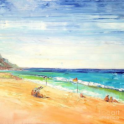 Painting - Summer Days by Kathy  Karas