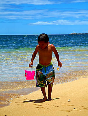 Photograph - Summer Days by Pamela Walton