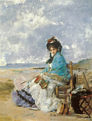 Painting - Summer Days by Vicente Palmaroli