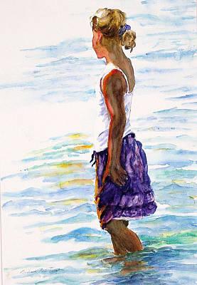 Summer Daze Original by Barbara Jung