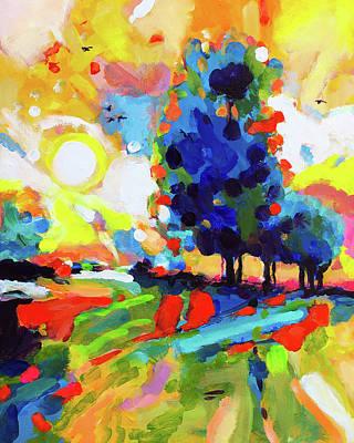 Wall Art - Painting - Summer Daze by Charles Wallis