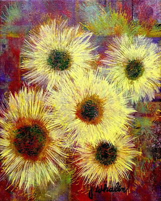 Painting - Summer Dazzlers by Jim Whalen
