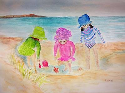 Painting - Summer Discoveries by Anne Sands