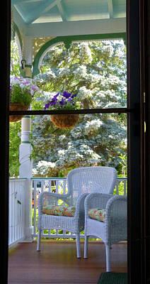 Photograph - Summer Door by Ellen Paull