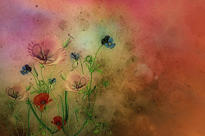 Tranquility Mixed Media - Summer Dream by Mountain Dreams