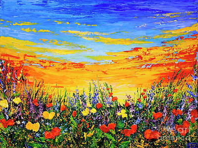 Painting - Summer Dream by Teresa Wegrzyn