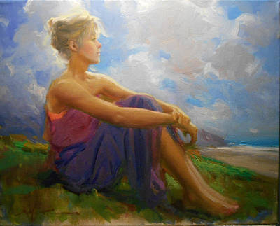 Painting - Summer Dreams by Fredric Michael Wood