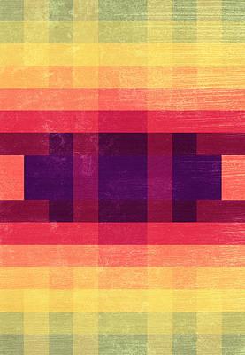 Autumn Abstract Digital Art - Summer Dreams by VessDSign