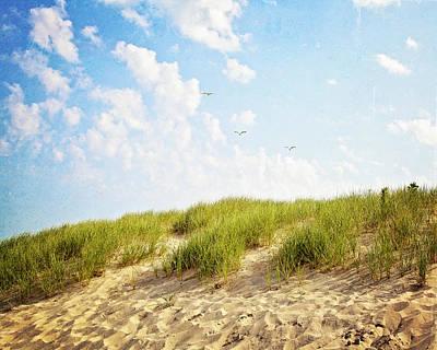 Art Print featuring the photograph Summer Dunes by Melanie Alexandra Price