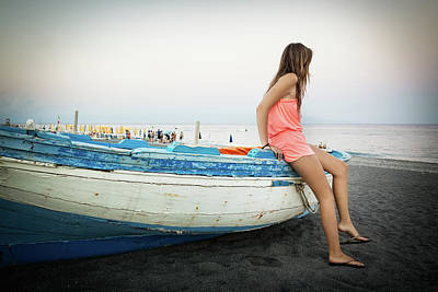 Photograph - Summer Dusk by Alfio Finocchiaro