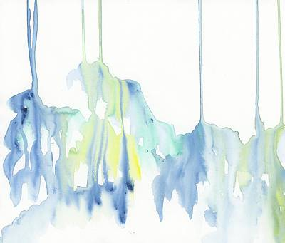 Drip Painting - Summer by Emily Magone