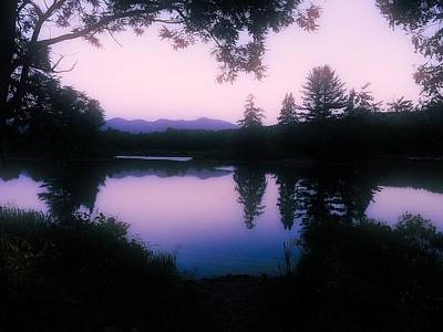 Photograph - Summer Evening In New Hampshire by Robin Regan