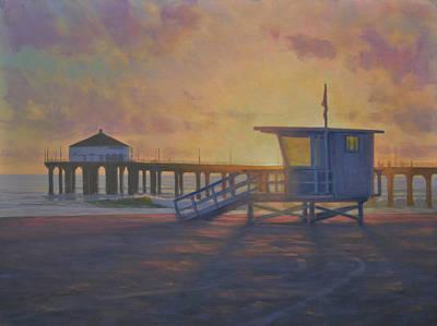 Summer Evening Original by Joe Mancuso
