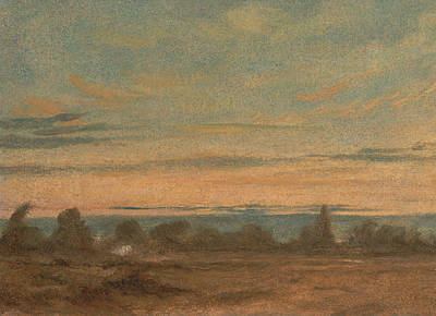 Painting - Summer Evening Landscape by John Constable