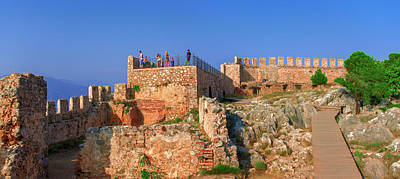 Photograph - Summer Evening On Alanya Castle by Sun Travels