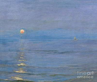 Summer Evening Art Print by PS Kroyer