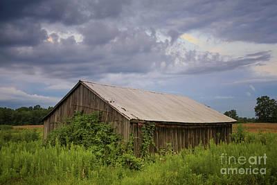 Photograph - Summer Evening Storm by Rachel Cohen