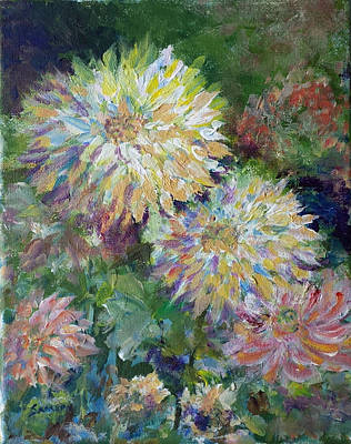 Painting - Summer Explosion by Laurie Samara-Schlageter