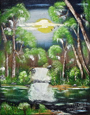 Painting - Summer Falls by Joseph Summa