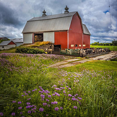 Photograph - Summer Farm by Debra and Dave Vanderlaan