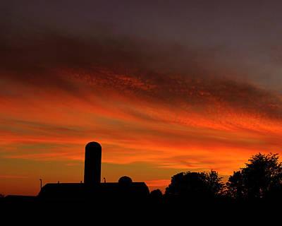 Photograph - Summer Farm Ottawa Valley by Tony Beck