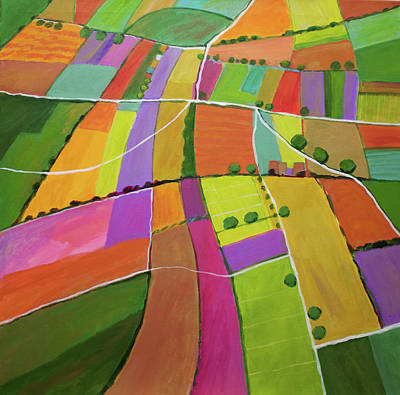Summer Fields Original by Toni Silber-Delerive