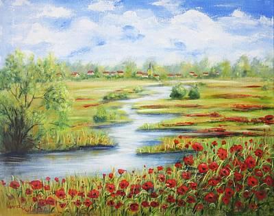 Painting - Summer Fields by Vesna Martinjak