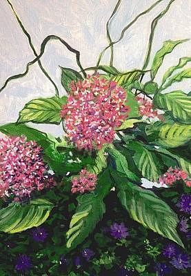 Painting - Summer Flowers 2 by Jeanette Jarmon