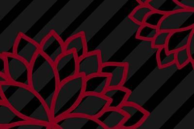Shift Digital Art - Summer Flowers by Chastity Hoff
