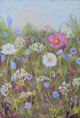 Painting - Summer Flowers by Nancy Jolley