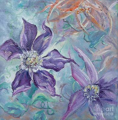 Painting - Summer Flowers No. 1 by Ryn Shell