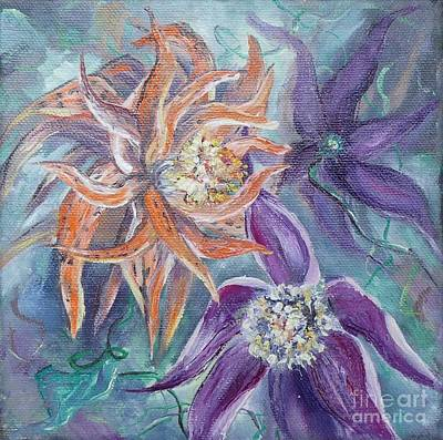 Painting - Summer Flowers No. 2 by Ryn Shell