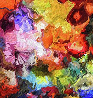 Painting - Summer Flowers by Tito