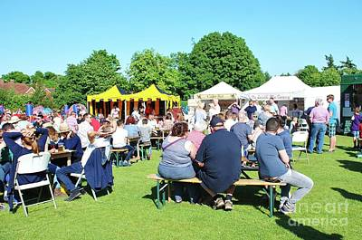 Photograph - Summer Food And Drink Festival by David Fowler