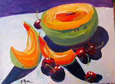 Summer Fruit Original by Joan Ryan