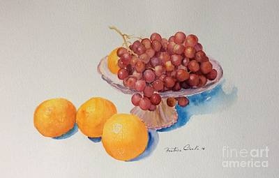 Painting - Summer Fruits by Beatrice Cloake