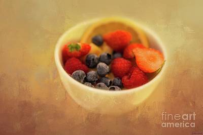 Photograph - Summer Fruits by Eva Lechner
