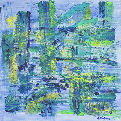 Painting - Web Of Life  by Angela Bushman