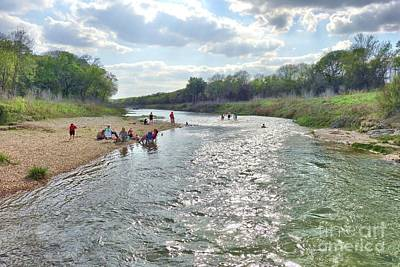 Photograph - Summer Fun At Brushy Creek by Janette Boyd